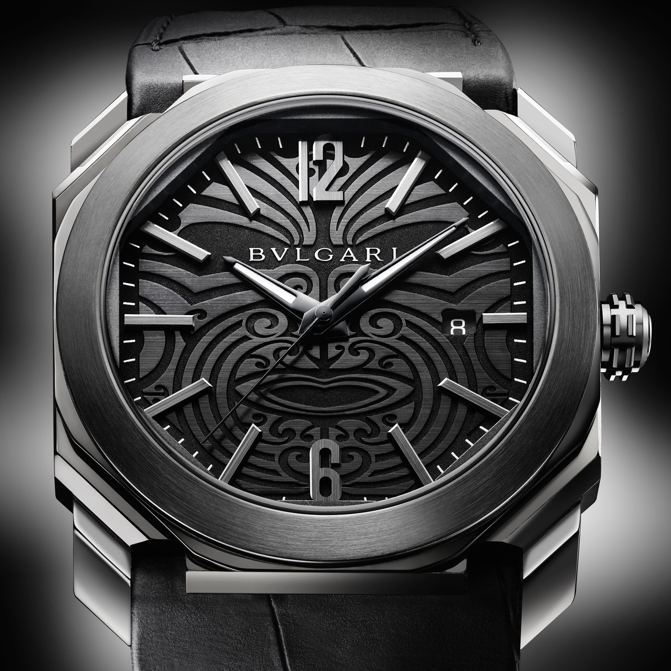 OCTO All Blacks Special Edition на BVLGARI