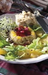 (БГ) Как да си приготвим: Крем от гъши дроб със салата от рукола и мандарини