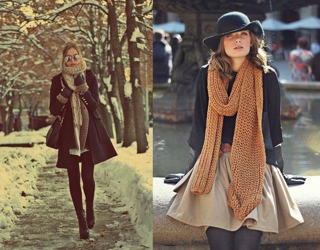 Шалът – любимият ни зимен аксесоар