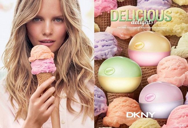 Сладоледените изкушения на DKNY