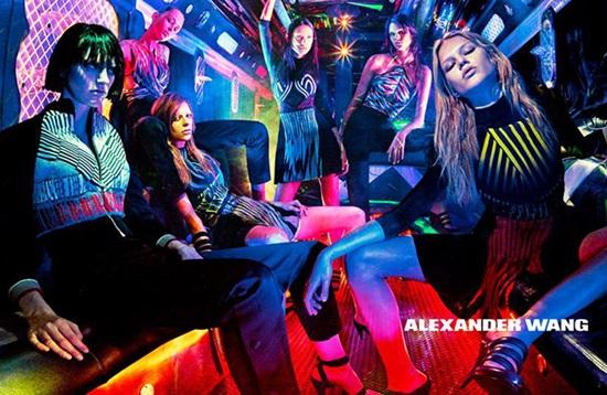Клубна мода в парти бус: новото от Alexander Wang