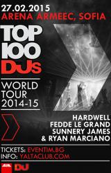 (БГ) Световното турне на 100-те най-добри DJ-и минава и през България!