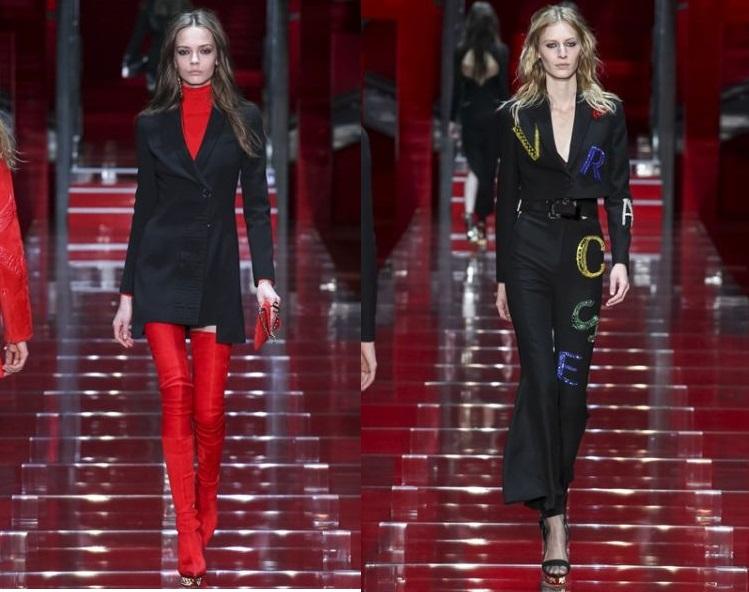 Versace като по Стендал – в червено и черно