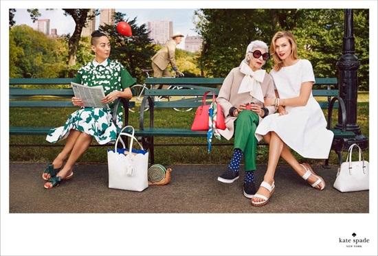 Айрис Апфел и Карли Клос – две модни дами в една пъстра кампания