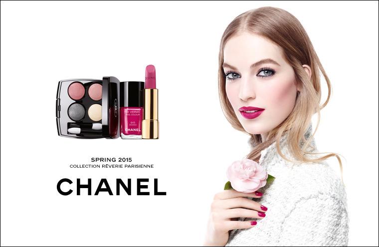 Днес поръчваме Chanel – макиажът, вдъхновен от градините на Париж