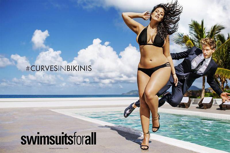 <!--:bg-->#CURVESINBIKINI Plus-size модел за пръв път в брой на Sports Illustrated<!--:-->