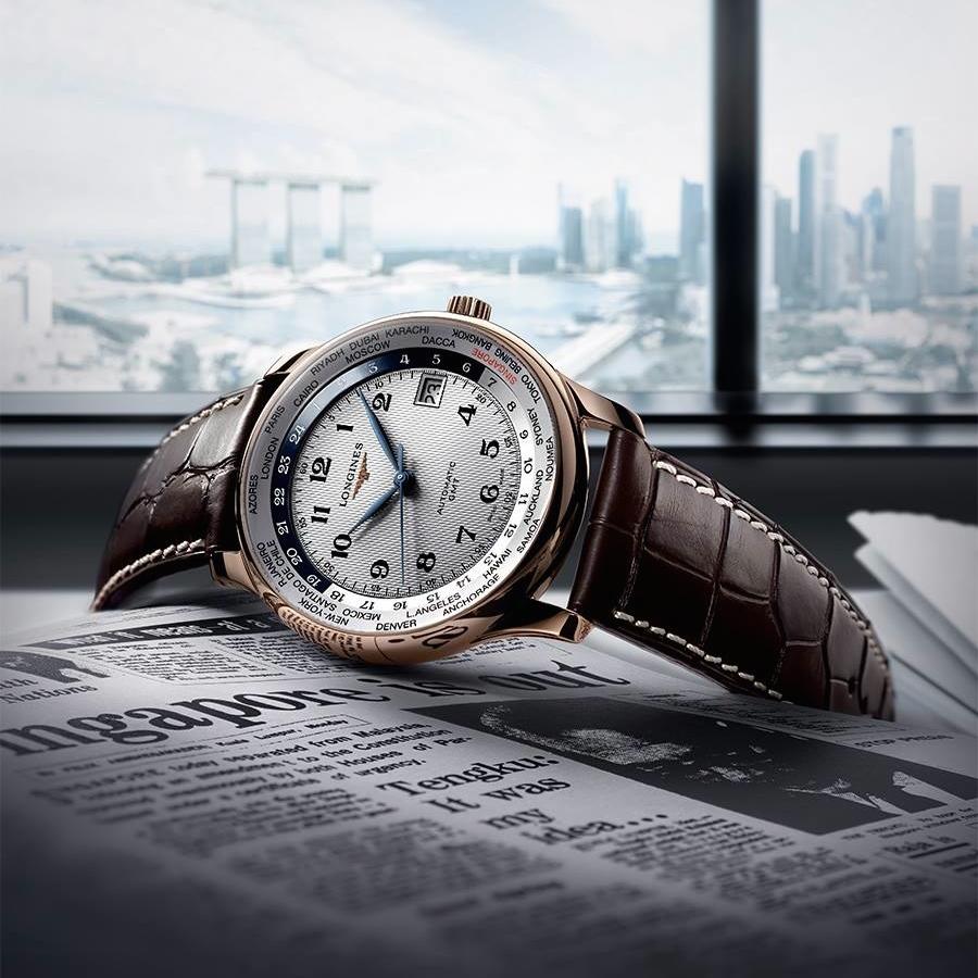 <!--:bg-->Longines отбелязват 50 години независимост на Сингапур с 50 уникални часовника<!--:-->