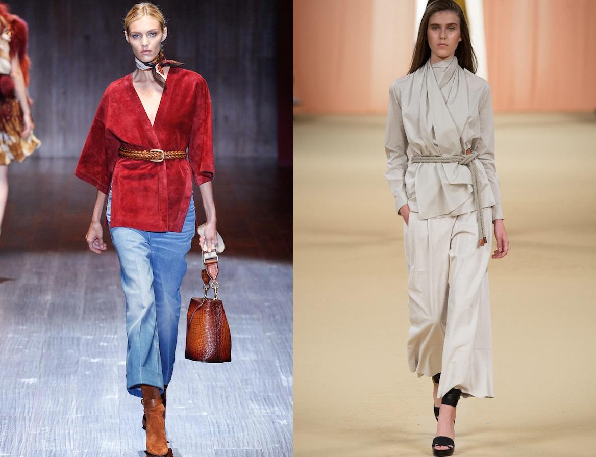 Сакото-кимоно, което непременно ще влезе в гардеробите ви тази пролет