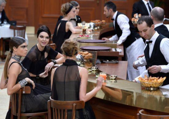 Brasserie Gabrielle: Едно кафе с Chanel, моля!