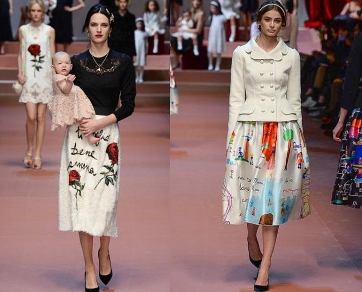 Viva la Mamma – най-емоционалната колекция от Fashion Week до този момент