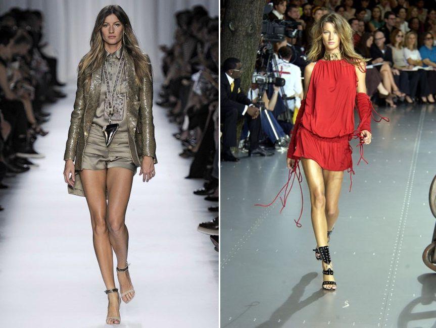 Жизел Бюндхен в десет незабравими кадъра от нейната кариера на модел до сега
