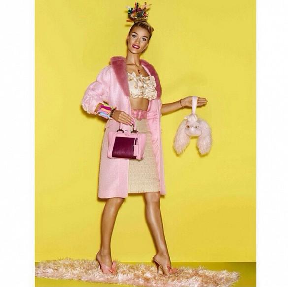 Роузи като истинско Барби: Един нереален образ и много реални аксесоари