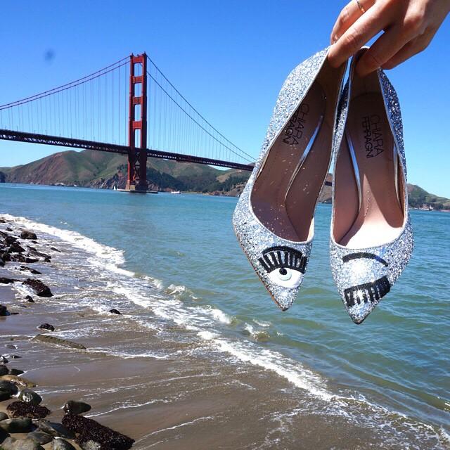 Как изглеждат обувките, създадени от моден блогър?