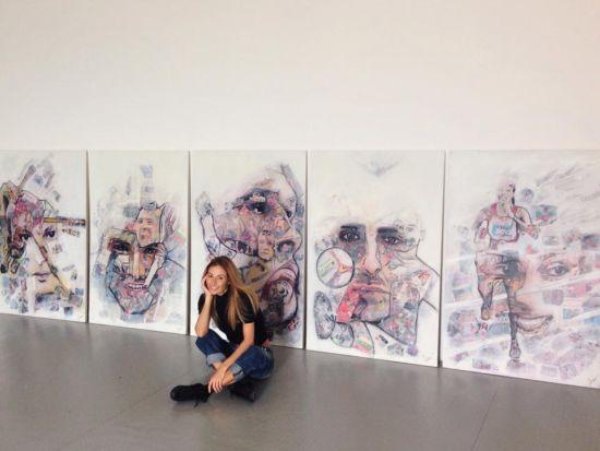 Искра Георгиева събира най-известните лица на българския спорт в изложба