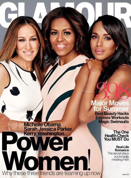 <!--:bg-->Сара Джесика Парткър и Мишел Обама заедно на корица на списание<!--:-->