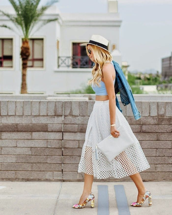 Още ли не сте чували за нея: Мрежестата пола и как да я носим?