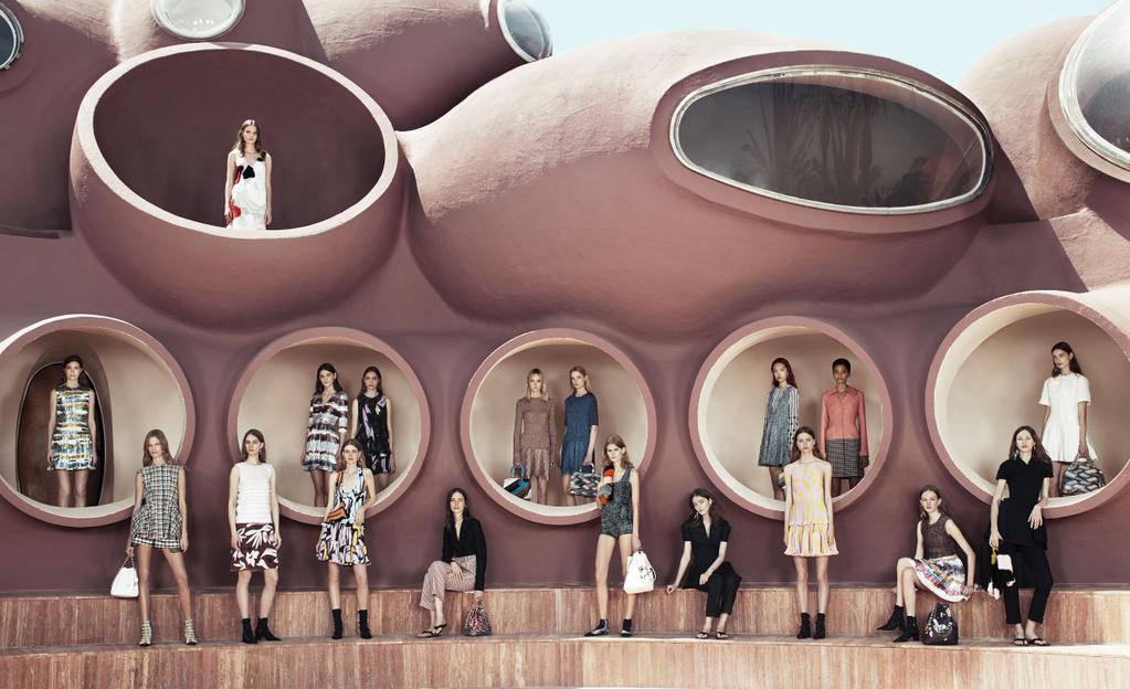 Мода, Ривиера и пътешествия от Dior в круизна колекция 2016
