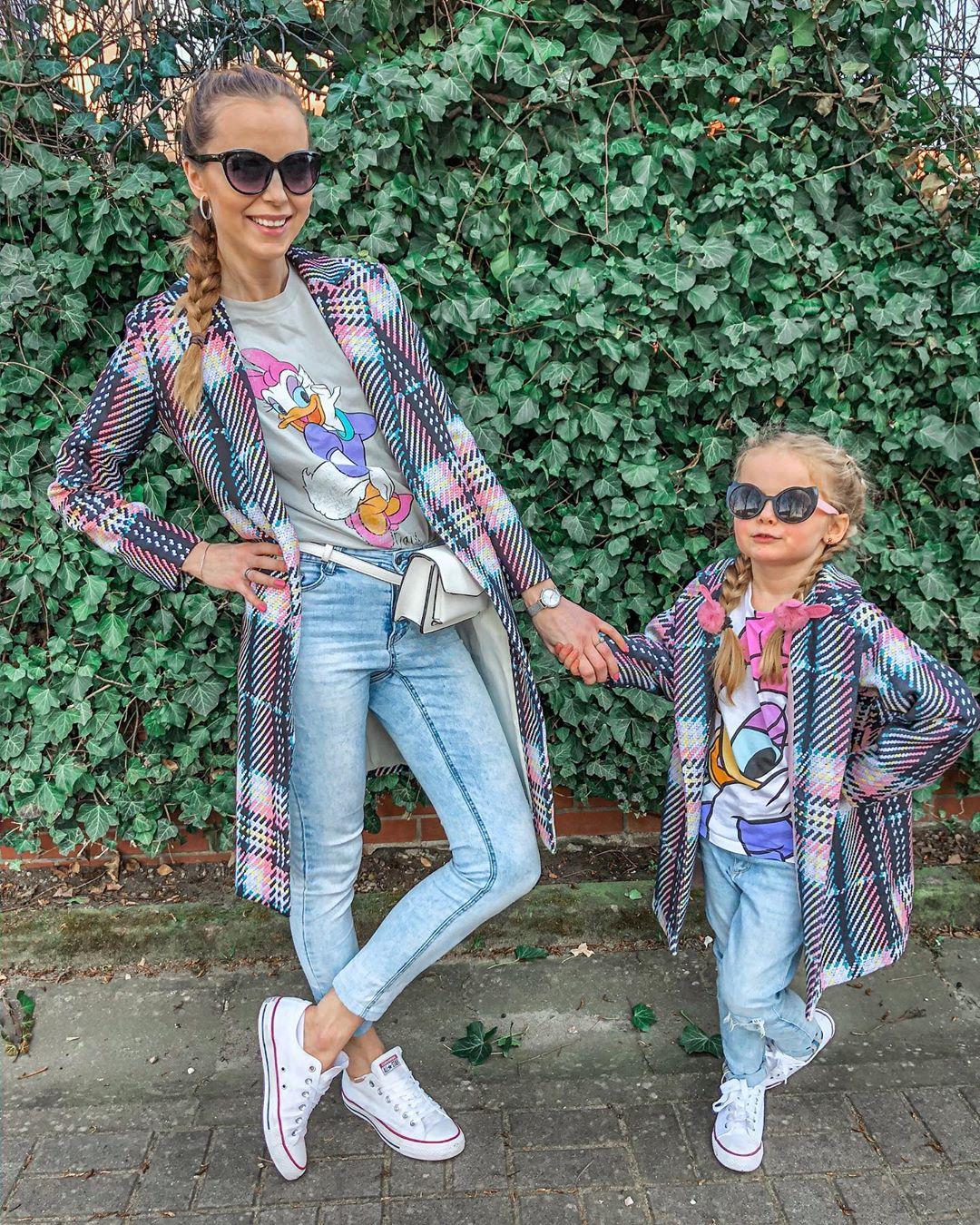 Дъщеря ми и аз: Най-красивото дуо по улиците на града
