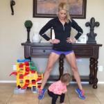 Алекса Джейн и упражненията й за брилянтна форма