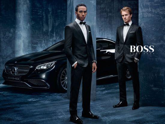 Hugo Boss ще създават дрехи, вдъхновени от екипите на Формула 1