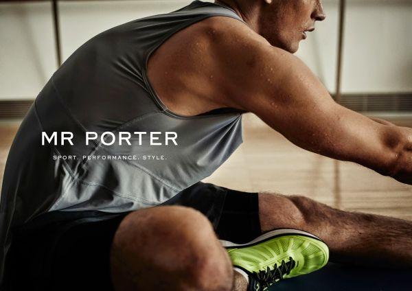Mr Porter вече предлага и спортни стоки за мъже