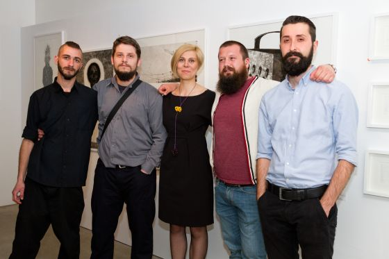 А+ gallery Sofia отпразнува първи рожден ден с изложба на PRINT NEST studio