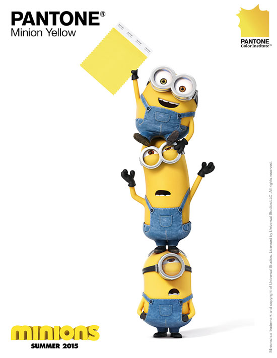 Pantone-Minion-Yellow-Minions-Pinterest