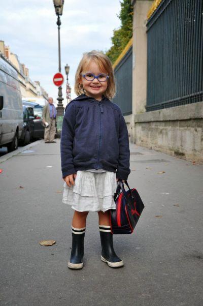 fashion children street style glasses