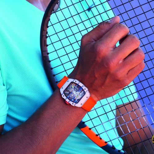 Рафаел Надал представи нов часовник на Ролан Гарос