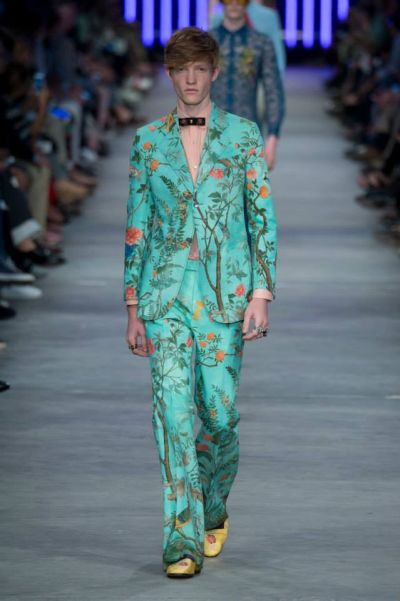 Новият мъж на Gucci – лудост и младежко излъчване в ярки цветове