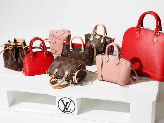 Louis Vuitton с първа нано-колекция