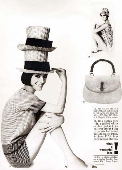 Gucci-Advertisement-Harpers-Bazaar-1970s