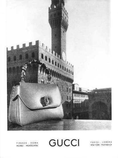 Gucci-Bamboo-Handbag-Advertisement-1960s
