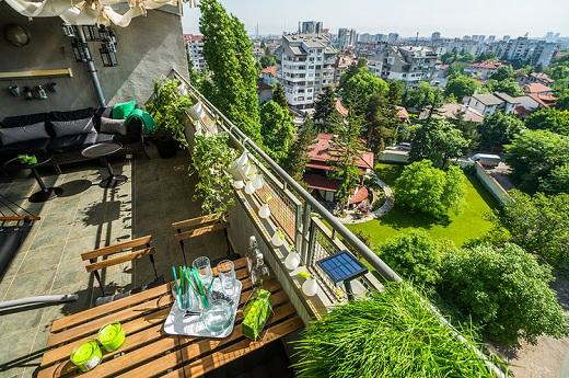 Виж София от балкона