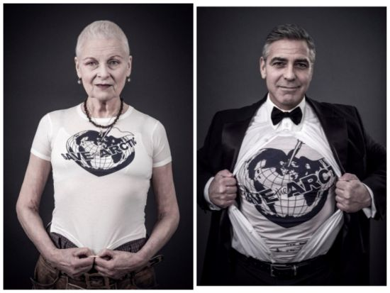 Джордж Клуни и Кейт Мос се присъединиха към благотворителна кампания