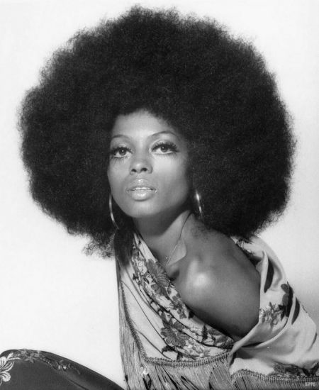 Diana-Ross-Afro-Hairstyle