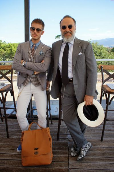 Marco Taddei and Gianni Fontana by Ivan Guerrero at Wooster + Lardini Presentation (12)