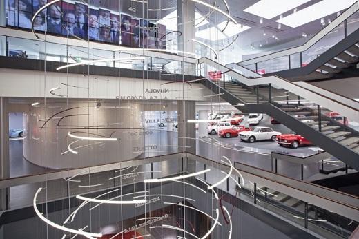 Мъжки страсти – обновеният музей на Alfa Romeo е тук