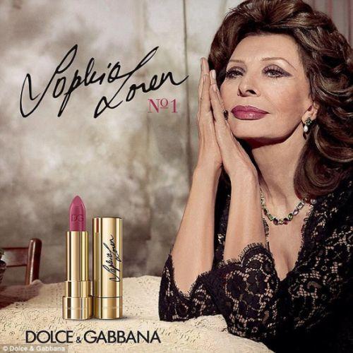 Dolce & Gabbana създадоха червило, посветено на София Лорен