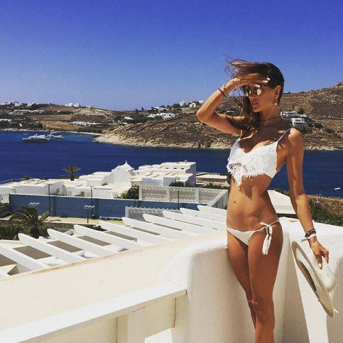 Перфектните ваканции на известните: Instagram и моделите в края на лятото