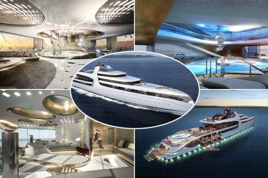 Admiral X Force 145, която струва 1 милиард евро