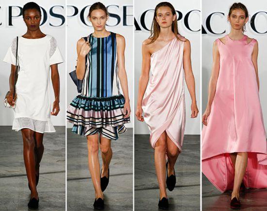 Fashion Week New York: Първи модни импресии, цветове и форми