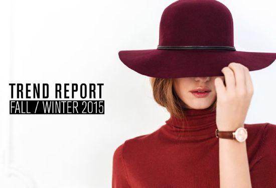 TREND REPORT FALL/WINTER 2015 на Fashion Days