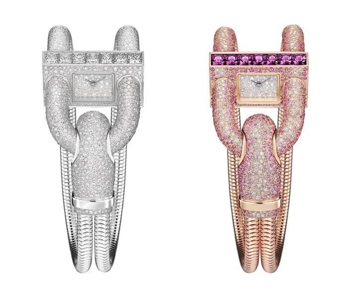 Часовниците бижута на 2015 година – 10 модела лукс и абстракция