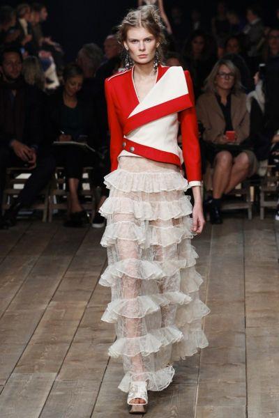Сара Бъртън за Alexander McQueen – една пролет, която преражда енергията на покойния дизайнер