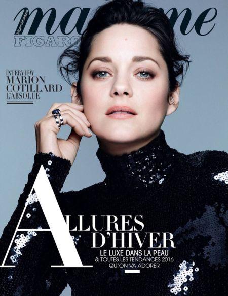 Марион Котияр за Dior, Madame Figaro и какво да очакваме през декември