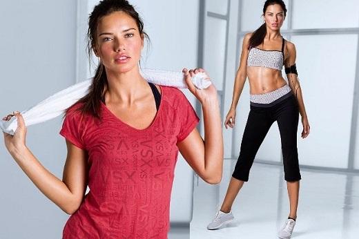 Упражненията на Адриана Лима за красиви крака