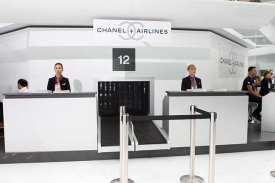 Добре дошли на борда на Chanel Airlines!