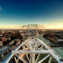 Да владееш синевата. 5-те най-високи панорамни колела в света