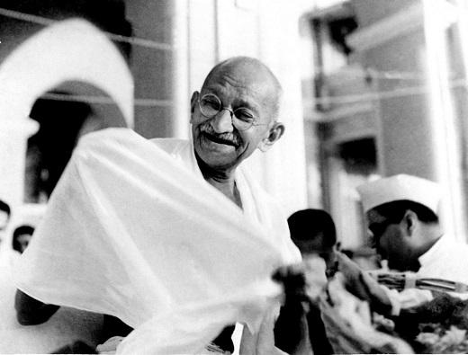 Ганди – той призова да бъдем промяната…
